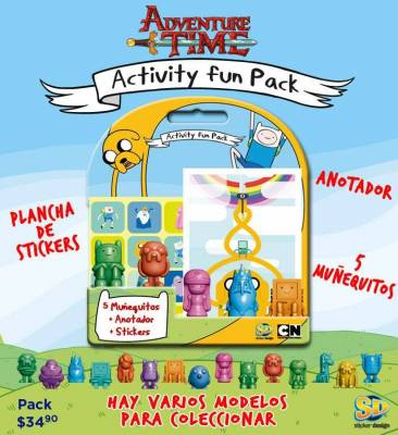 Activity Fun Pack Adventure Time